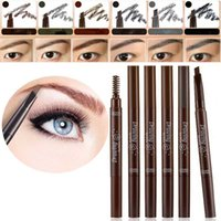 auto eye brow pencil - Contour Waterproof Eyebrow Pencil Enhancer Brush Auto Long Lasting Eye Brow Pen Make Up Tool Permanent Eyebrow Paint Pencil