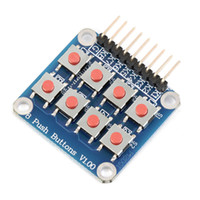 Wholesale New Matrix Keypad Keyboard Board Module Button Tactile Switch for Arduino