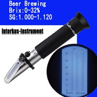 Wholesale Beer Brewing Refractometer Brix Wort Specific Gravity popular instrument with many homebrewers