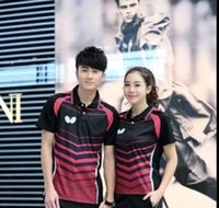 Wholesale 2016 Butterfly new table tennis clothing for men and women sleeved T shirt YYF36157
