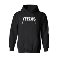 Wholesale Brand yeezus Hooded Sweater Fashion Casual Winter Cotton Hoody Sweatshirts Long Sleeve Fleece Pullover Hoodies and Sweatshirts