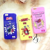 apple overseas - Retail Overseas warehouse iphone s cases TPU artoon Phone cases for iphone s plus cases with retail package