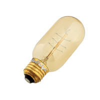 Wholesale YouOKLight Tube Tungsten LED Flament inscandescent light Bulb Edison light bulb E27 E26 V W Edison filament bulb