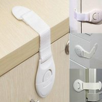 Wholesale 1pc Cabinet Door Drawers Refrigerator Toilet Safety Plastic Lock For Child Kid baby safety new arrival