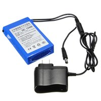 Wholesale 2016 Hot Sale Electrical Super Rechargeable Protable Lithium ion Battery DC V mAh With Plug x57x20mm Battery