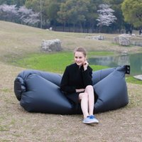 Wholesale pieces kaisr fast inflatable bed air sleep sofa lounge outdoor inflatable camping beach lying sleep rendezvous