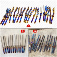 best katana - latest best price anodized titanium katana sword fit for mm mm universal titanium carb cap rainbo