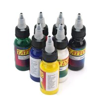 Wholesale ml oz Unit Color Tattoo Inks Pigment Lining Shading Supplies Set Bottles Kits Body Art Tools