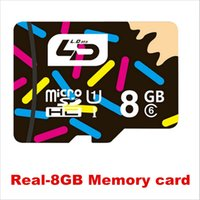 Wholesale LD TF TransFlash cards Micro SD card memory card GB SDHC class for cell phones tablet TransFlash Cards A