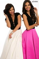 beautiful jersey - 2016 Beautiful Jersey Short Sleeve A line Prom Dress with deep V Neck and open Back Prom Gowns