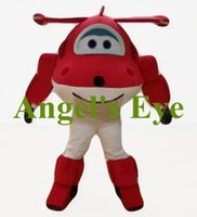 airplane dress - the red airplane mascot costume adult size popular cartoon character aeroplane theme anime costumes carnival fancy dress SW2574