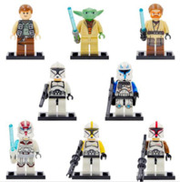 Wholesale Star Wars Yuda assemble Minifigure bricks Building Blocks toy mini Figures toys for kids