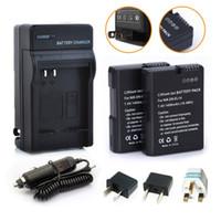 Wholesale EN EL14 EN EL14 Repalcement Batteries Charger Car Charger Plug For Nikon Coolpix P7000 P7100 D3100 D3200 D5100 mAh