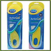 b velvet - Scholl Gel Activ Work Insoles for Men Women Soft silicone damping insole Foot Care Also Have Scholl Velvet Smooth Foot Care