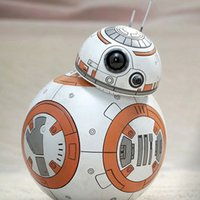 Wholesale New Hot cm Star Wars The Force Awakens BB8 BB Droid Robot Daruma Tumbler Action Figure Toys Birthday Present