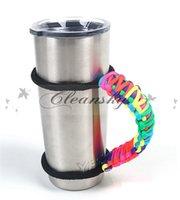 Wholesale YETI cups Handle Handmade Paracord Yeti Rambler oz oz Tumbler Handle have in stock Z239