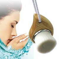 Wholesale 1 Exfoliating Facial Brush Face Care Cleaning Wash Cap Soft Bristle Brush Colors