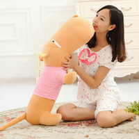 Wholesale Large Doll Heads - 50-110cm Large size Plush Toys Big head Dog Cloth doll Dog Toys sleep pillow birthday gift for children Lovers dog