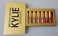 Wholesale In Stock set High Quality Newest Kylie Jenner Lipkit In LEO Limited Birthday Edition CONFIRMED Matte Lipstick