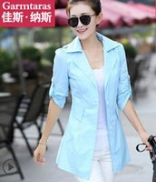 Wholesale New Arrival Women s Hot Sale Fashion Casual Korean Windbreaker Slim Cultivating Long Sleeved Sweety Models Trench Coat