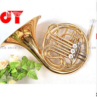 Wholesale NEW French JYFH BE130G Horn key JINYIN Professional French Horn DOUBLE Row Split Bb F flat Wind Instruments French Horns