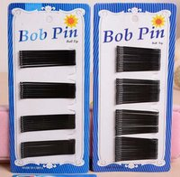 Wholesale 60Pcs set Hair Clips Bobby Pins Invisible Curly Wavy Grips Salon Barrettes Hairpins Hair Accessories