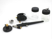 Wholesale Air Brush Airbrush Spray Gun Sprayer Painting Tool Kit High quality