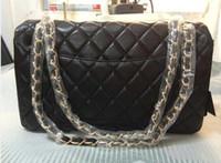 cheap branded bags - shoulder bags Women Designer Franch Brand Bolsas Shoulder Bags For Women Caviar Skin Bolsas Vintage Ladies Handbags Cheap Online