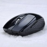 Wholesale 2 GHz USB Optical Wireless Mouse USB Receiver Mice Cordless Game Computer PC Laptop Desktop Without Battery25