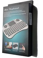 better keyboard for ipad mini - Portable mini keyboard Rii Mini i8 Wireless Keyboard with Touchpad for PC Pad Google Andriod TV Box DHL free ship better