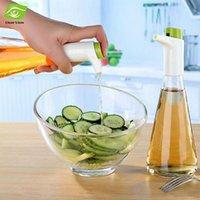 glass bottle olive oil - 325ML Measurable Press Type Glass Olive Oil Bottle Multifunctional Vinegar Sauce Bottles