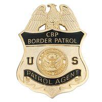 badge magnet - US CBP Border Patrol Agent Refrigerator Magnet metal badge