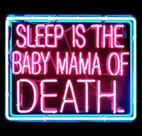 baby signs shop - NEON SIGN for sleep is the baby mama of death Pirate REAL GLASS BEER BAR PUB display Light Signs Signboard Store Shop quot