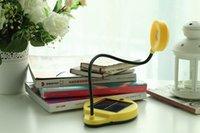 Wholesale LED Solar Lamp Solar USB Charging Table Lamp Desk Energy Saving Reading Lighting Protable Battery Pack