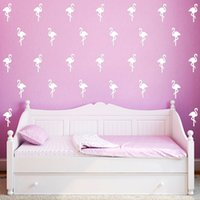 Wholesale 300PCS Little Flamingo Wall Sticker Wall Decal Removable Child Room Decoration Art Wall Decors