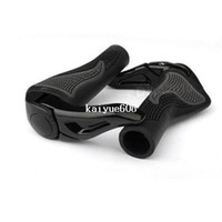 Wholesale Black Cycling Mountain MTB Bike Bicycle Lock On Handlebar Cover Handle Grip Bar End