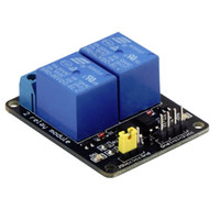 Wholesale 5V Channel Relay Module Shield For Arduino ARM PIC AVR DSP MCU Electronic