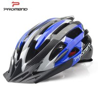 Wholesale promend high quality EPS road and mountain cycling helmet in mold bicycle helmet holes ventilated safety cycling hat
