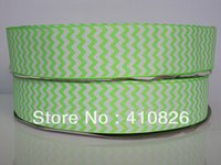 chevron ribbon - ribbon OEM inch mm Chevron design printed grosgrain ribbon yards roll for headband