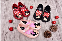 Wholesale 2016 Summer Kids Sandals cartoon Mickey Minnie Sandal Shoes Childrens Shoes Boys Girls Jelly Sandals Sandals Kids Footwear Children Sandals
