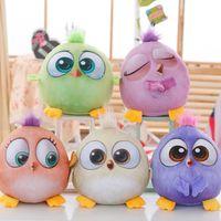 Wholesale 35cm Angry Birds Plush Toys Hold pillow Cartoon Stuffed Animalsl Plush Toys For Children Kids