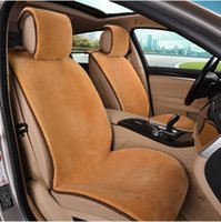 australian cars - 2016 Newest Front Rear Seats Winter Use Australian Natural Wool Car Seat Cover Short Plush Car Cushion Available For All Cars