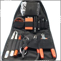 backpack tool kit - Coil Master Tool Kit V3 Backpack DIY Kit For RDA RBA RTA RDTA Atomizer Professional Tool Bag Coiling Kit DHL Free