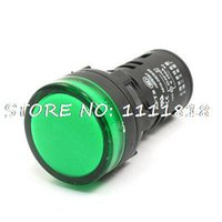 Wholesale Factory AC DC V mA Green Indicator Lamp Abnormal Signal Pilot Light