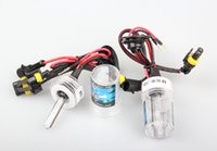 Wholesale 2 Car head light Xenon HID Replacement W Bulbs Lamp Truck Lights Kits K V
