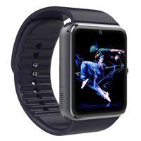 Dispositifs portables intelligents Prix-Gros-Bluetooth montre Smart Watch GT08 relogio montres Avec les appareils portables à sous carte SIM pour Apple Samsung iphone android montre pk u8 dz09