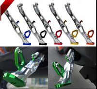aluminium stands - Aluminium alloy mm Motorcycles Kickstand Kick Side Stand Motorcycle Scooter Street Standard For Land Rover BWS