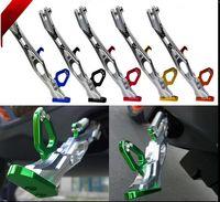 all'ingrosso monopattino-lega di alluminio 280 millimetri stand Moto Cavalletto Side Kick motorino del motociclo Via standard per Land Rover / BWS