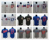 Wholesale Flexbase Chicago Cubs Kris Bryant Baseball Jerseys White Gray Blue