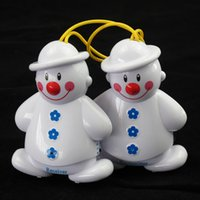Wholesale New Lovely Snowman Wireless Baby Cry Detector Monitor Watcher Alarm Set Receiver and transmitter Hot Sale
